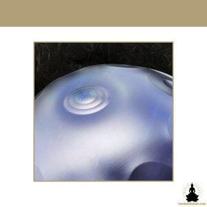 handpan 10 notes - galaxy blue