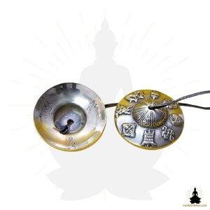 cymbales tibetaines tingshas bronze 8 symboles mon bol tibetain (3)